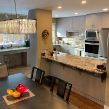 Expresso kitchen cabinet refinishing winnipeg manitoba 1