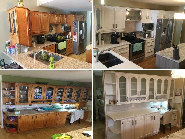 Kitchen Cabinet Refinishing Winnipeg House Painter Interior Painting Winnipeg Canada